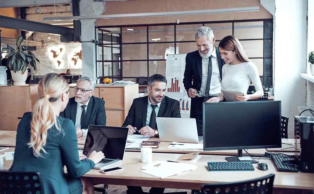 Digitalisierte Geschäftsprozesse